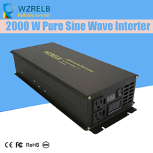 Reliable Pure Sine Wave Inverter UPS and charging function 2000W outdoor home frequency inverter with charger цена и фото