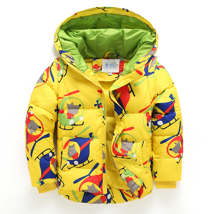 (XYF)2018 Fashion Boys Down Jackets Winter Russia Baby Coats Thick Duck Warm Clothing Children Outerwears Fashion New Jackets russia winter boys girls down jacket boy girl warm thick duck down
