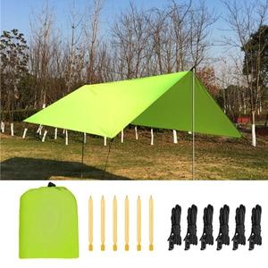 Image 1 - 3x3 Meters Square Garden Sun Shade Sail Canopy Block Outdoor Patio Garden waterproof tarp Shelters Canopies Carport Awnings
