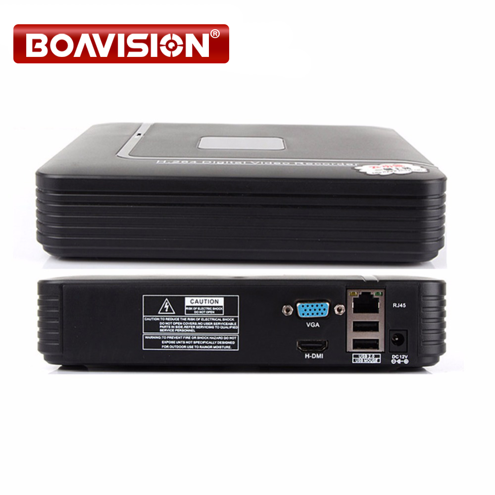 1080P Smart Mini 4CH NVR Support Realtime Video,Playback Network Video Recorder 1080P HDMI For CCTV IP Camera Onvif System hikvision ds 7108n sn ds 7104n sn multi language 1080p nvr for ip camera cctv network video recorder support onvif protocal
