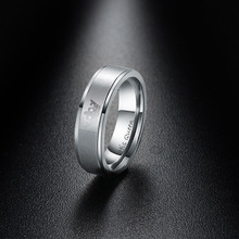 1 шт. Модные Новые Модные Винтажные парные кольца из нержавеющей стали для влюбленных пар ювелирные изделия кольца для свадебной вечеринки