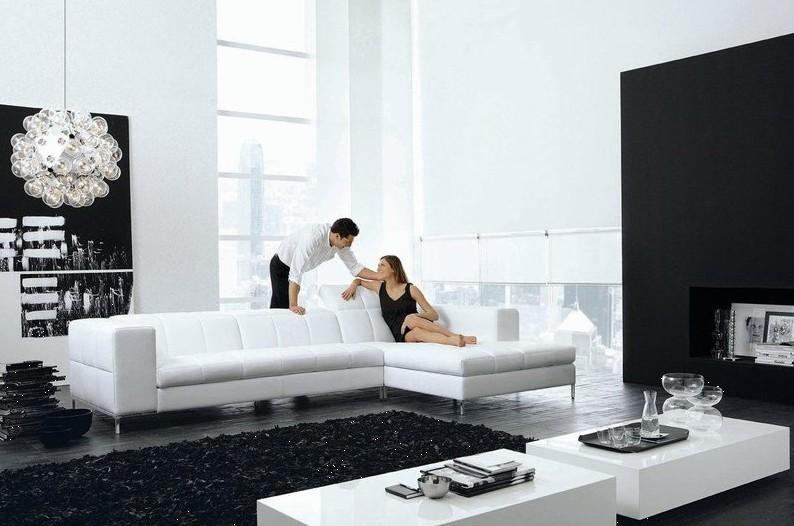 Kuh Echtes Leder Sitzgruppe Wohnzimmer Mbel Couch Sofas Sofa Schnitts Ecke L