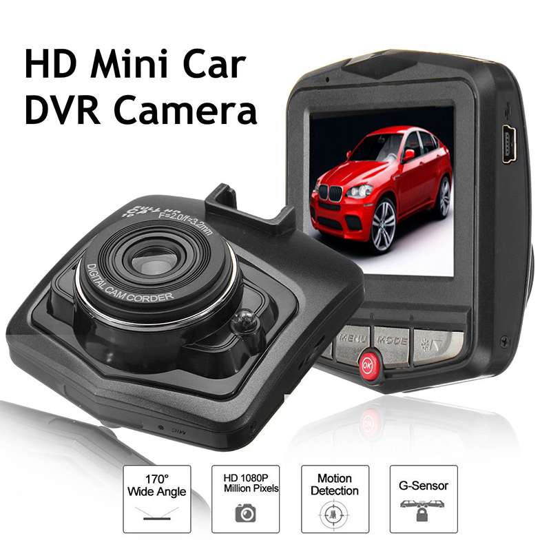 2018 MIni Dash Cam Camera Car DVR 12V Full HD 1080P LCD DVR Dash Cam Kamera Recorder G-Sensor Car DVR Vehicle Car Stying цена