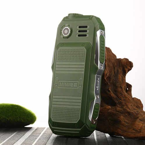 Прочный мини мобильный телефон, две sim-карты, Поддержка русской клавиатуры, большая кнопка, большой голос, дешевый телефонный калькулятор, фонарик F88 L99
