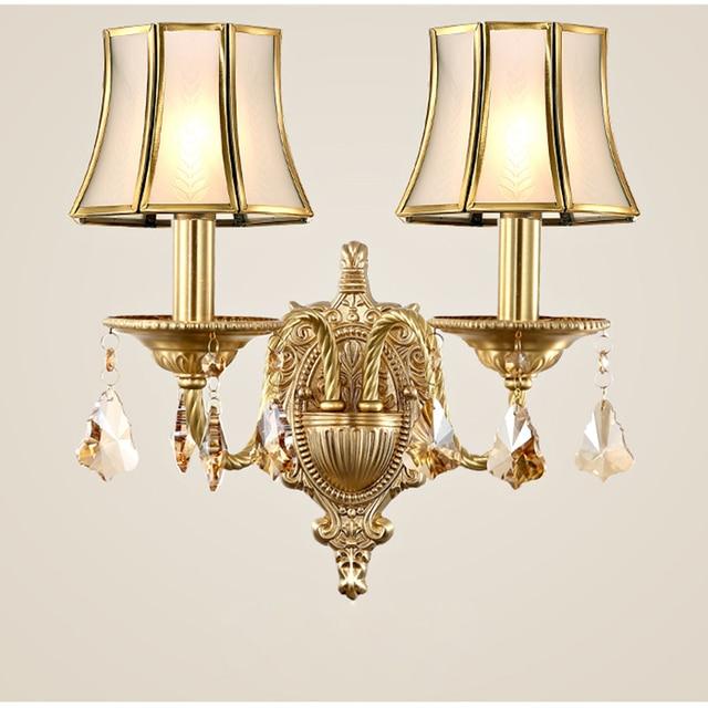 europ enne vintage tiffany chambre cuivre e14 ampoule led applique murale lampe maison d co. Black Bedroom Furniture Sets. Home Design Ideas