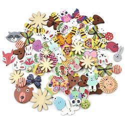 20pcs деревянные пуговицы для творчества Скрапбукинг аксессуары decorativos botones de madera пуговицы прозрачные