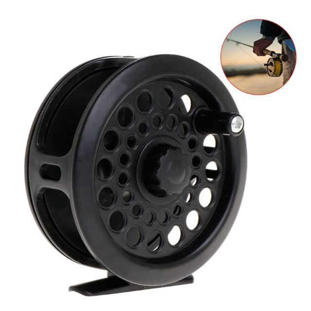 Cheap Fishing Reel Ice Reels Reinforced Nylon Spinning Tackle Portable Accessories Simple Lightweight Gear
