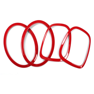 Image 5 - Taillight Trim Sticker For Mini Cooper F55 F56 Rear Tail Lights Head Lamps Rims Protective Covers Decoration Car Accessories
