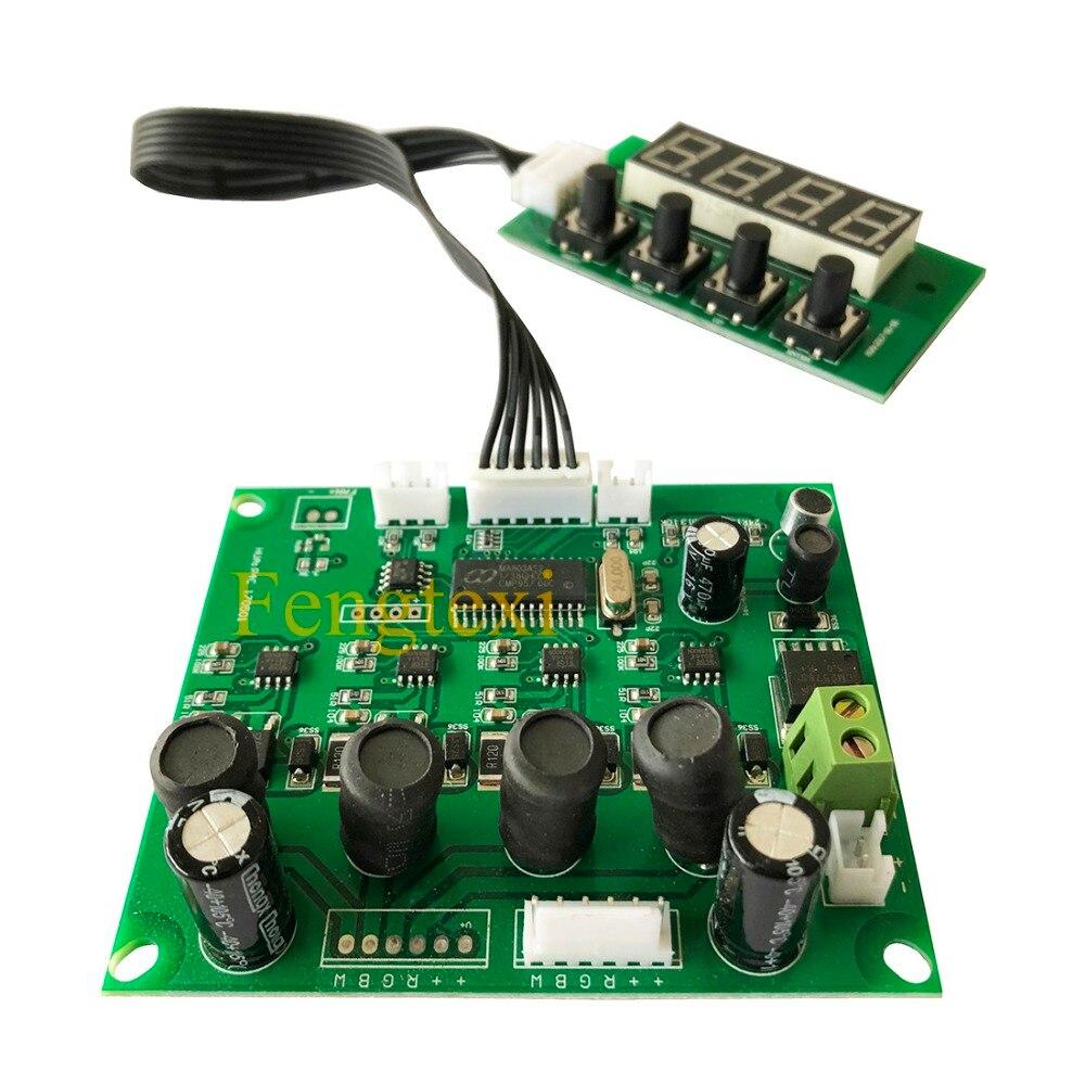 La lumière d'étape LED Par peut la carte principale RGBW 4in1 8 canaux pour 18x10 w 18x3 w 54x3 w Par carte mère de programme 24 v