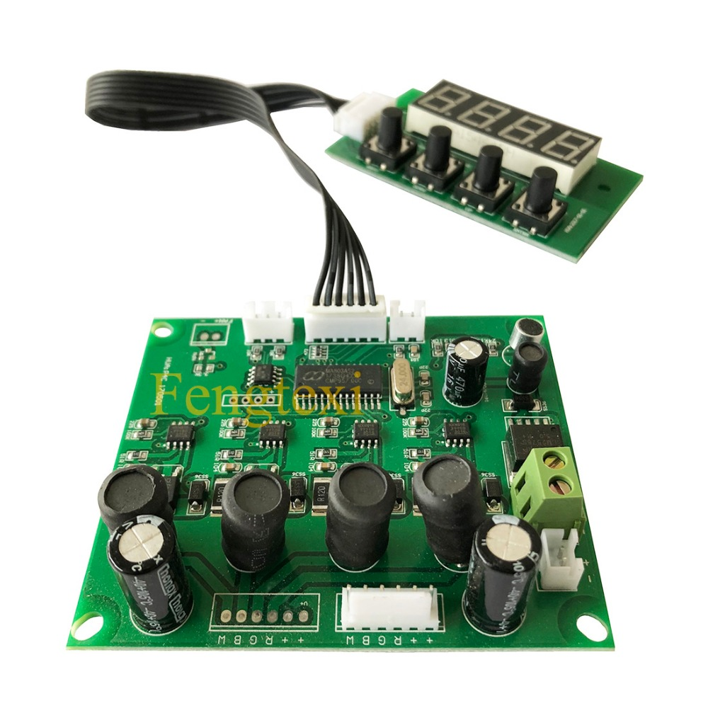 Stage Light LED Par Can Main Board RGBW 4in1 8 Channel For 18x10w 18x3w 54x3w Par Program Board 24v Voltage Mainboard