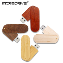 Hot Selling Wooden Bamboo USB Flash Drive Pen Drives Wood Chip Pendrive 4GB 8GB 16GB 32GB Memory Stick U Disk With Keychain Gift