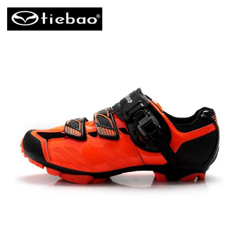 Mountain Bike Shoes Tiebao Racing Men MTB Bicycle Cycling Shoes Self-Locking Nylon-Fibreglass Riding Shoes zapatillas ciclismo
