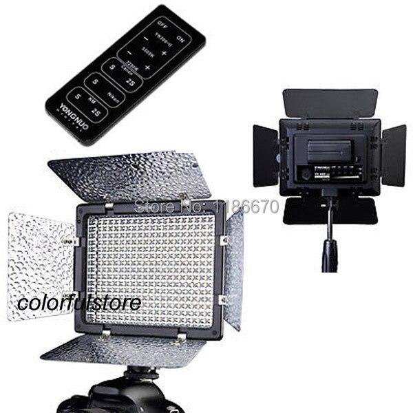 ФОТО Hot YN300II YN-300II Led Video Light For Canon EOS 5D II III 5D2 5D3 7D 6D 60D 50D 40D 700D 650D 600D 550D 500D 350D 1100D 1000D