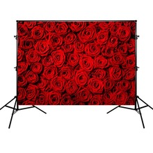 Red Rose Background Wedding Theme Photography Backdrops Mother's Day Photographic Banner Backgrounds for Mother mehofoto happy mother s day party backdrops photography flowers background photographic for mother props for photo shoot