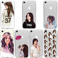 Camila cabello havana suave e transparente tpu macio silicone caso de telefone para iphone 11 11pro max x xr xs max 8 7 6 plus 5S