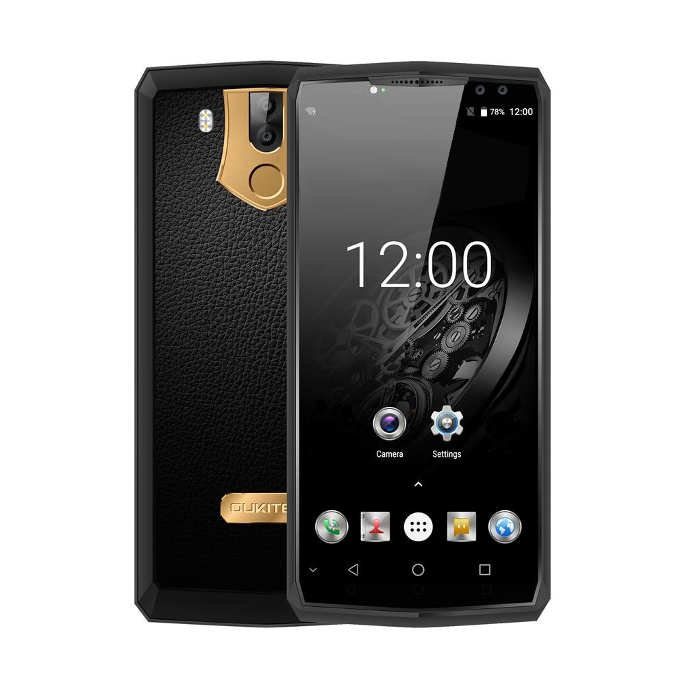 OUKITEL K10 4g Smartphone Phablet 6.0 pouce Android 7.0 MTK6763 Octa Core 2.0 ghz 6 gb RAM 64 gb ROM 11000 mah Batterie Quad Caméras