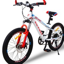High Quality Export Youth7 speed MTB Bike Double Disc Brake Street Mountain Bike Cycling child's bicycle 22 Inch