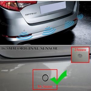 Image 2 - Оригинальный плоский датчик 13 мм s, регулируемая глубина 16 мм, система помощи при парковке автомобиля, резервный радар, зуммер, система для заднего и переднего бампера
