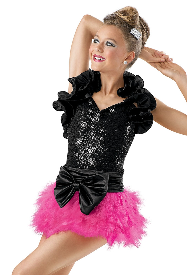 Adult female jazz dance clothes new children's clothing stage performance clothing sequined dress