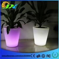 Luminous flower pot led flower pot small led light outdoor lights Furniture free shipping