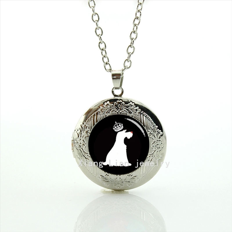 2017 Sale New Maxi Necklace Collier Collares Locket Necklace Pendants Schnauzer Prince Pendant Dog, Wedding Turtle Gifts T503