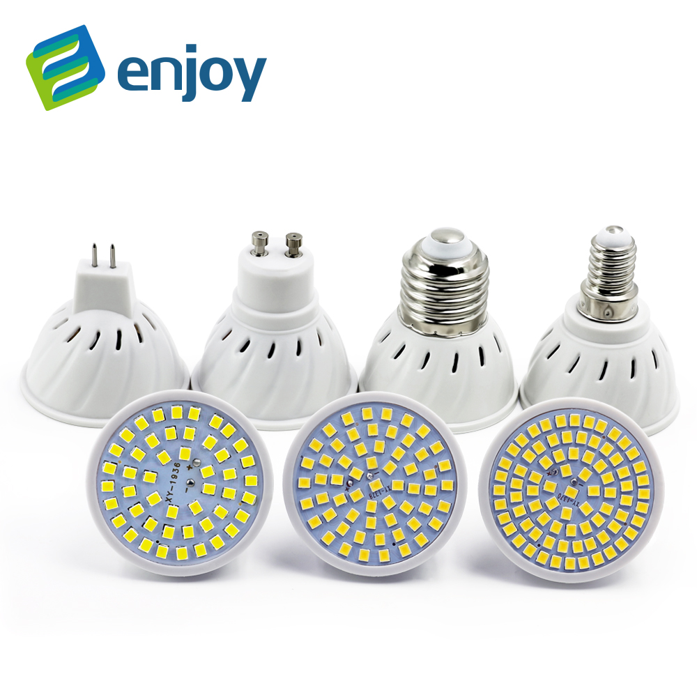Bright mr16 gu10 lampada led bulb e27 220v 110v bombillas for Lampade e27 a led
