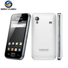 Разблокированный S5830i samsung Galaxy Ace S5830 смартфон 3g Wifi gps 5MP камера сотовый телефон