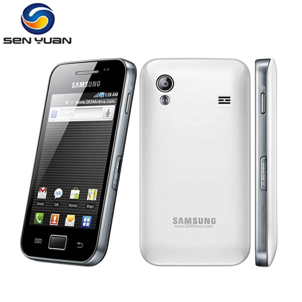 Débloqué S5830i Samsung Galaxy Ace S5830 Smartphone 3G Wifi GPS 5MP Caméra téléphone Portable Livraison Gratuite
