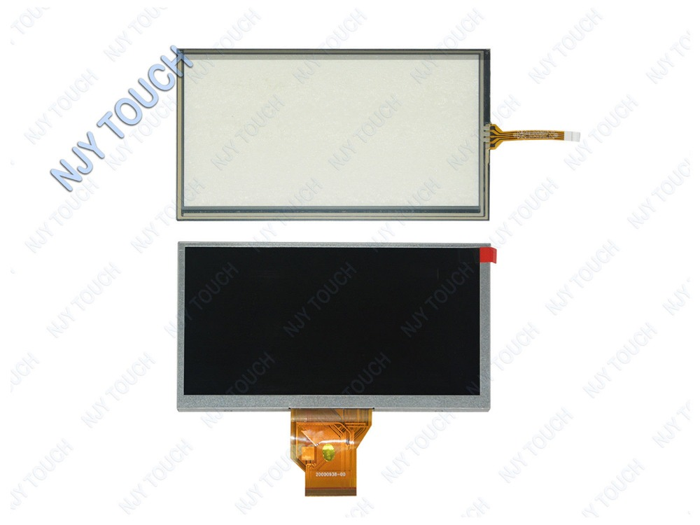 New 6.5inch INNOLUX AT065TN14 50Pins 800x480 LCD Screen Plus Touch Panel DigitizerNew 6.5inch INNOLUX AT065TN14 50Pins 800x480 LCD Screen Plus Touch Panel Digitizer