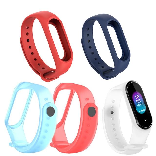 Transparent Soft Silicone Bracelet Strap For Xiaomi Hey Plus Hey+ Wristband Band Sports Watch Smart Bracelet Wrist Band Strap