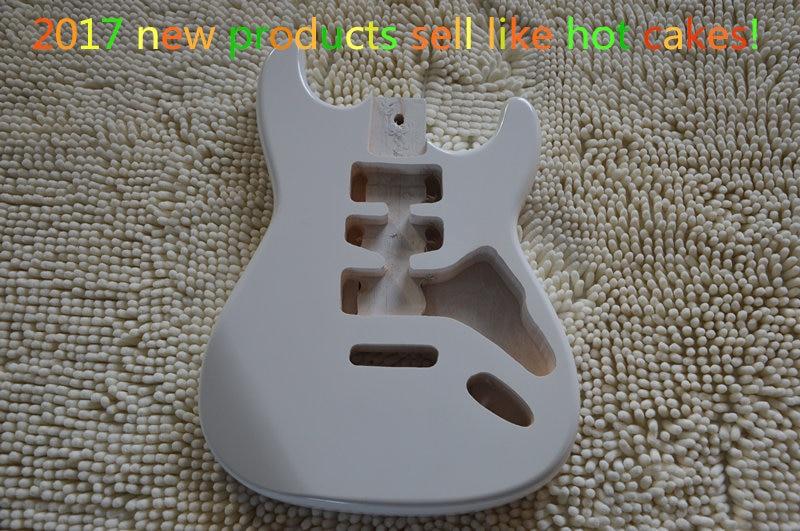 Corps de piano guitare électrique blanche neige, taille standard de ST, kit guitare