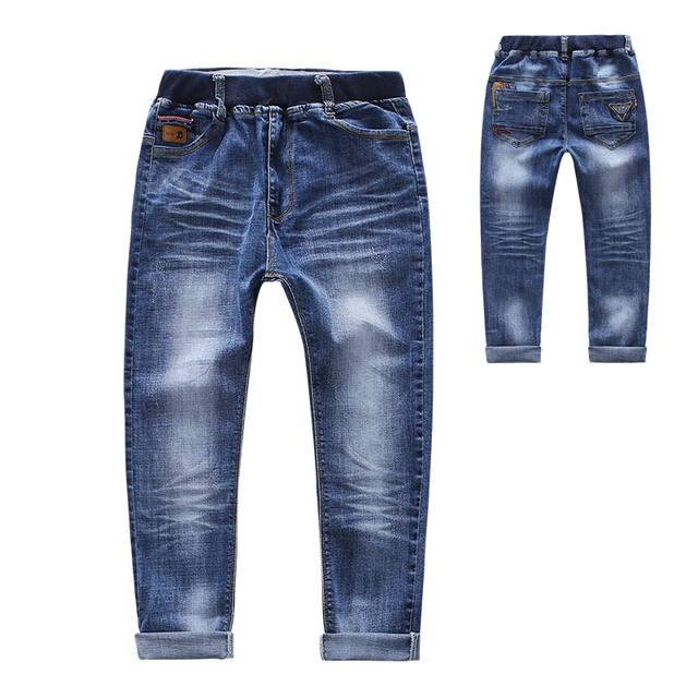 Children Jeans For Boys Clothing Spring Autumn Boys Denim 2017 New Pants School Kids Clothes Teenage Costume Boys Trousers