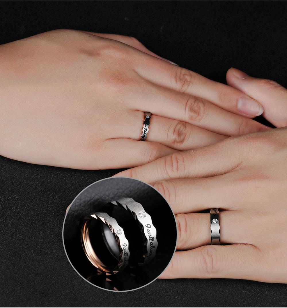 tengyi 1 шт. цена мода кольцами пара для любителей нержавеющей стали 316l кольца сердце любовь кольцо для пар ty301