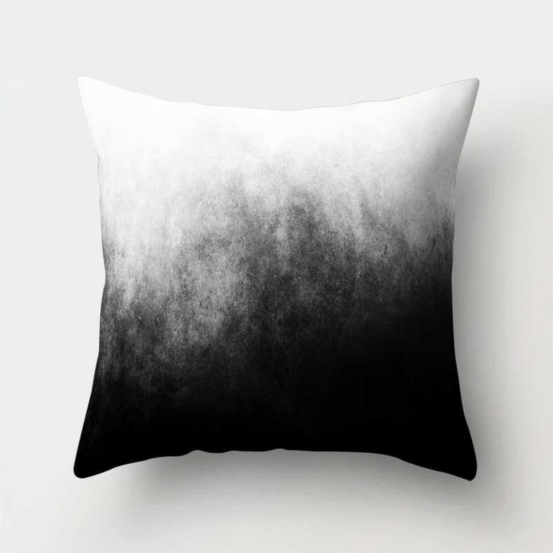 CUSCOV new geometric sofa cushion cover marine landscape picture polyester wedding decoration pillow case home pillow cover gift in Cushion Cover from Home Garden
