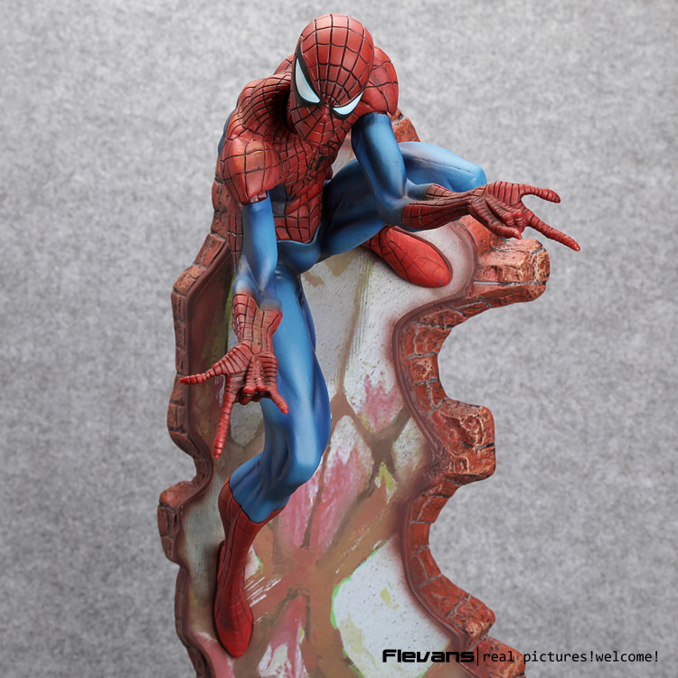 Crazy Toys Spiderman The Amazing Spider-man PVC Action Figure Collectible Model Toy 2 Styles 18 spiderman toys marvel superhero the amazing spider man pvc action figure collectible model toy 8 20cm free shipping hrfg255