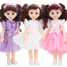 43cm Barbies Can Talk High-end Environmentally Friendly Silicone Lol Doll Set игрушки Princess Little Girl Toys For Children