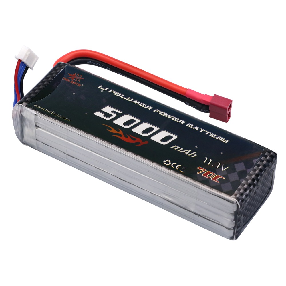 FPV 450 500 AKKU 11.1V 5000mAh 50C 100C 3S RC LiPo Battery For RC Helicopter Boat Traxxas Car Battery ARRMA Axial HPI E-revo yowoo fpv 450 500 akku lipo battery 2s 3s 7 4v 11 1v 5000mah 50c max 100c for traxxas helicopter fpv 450 airplane quadcopter car
