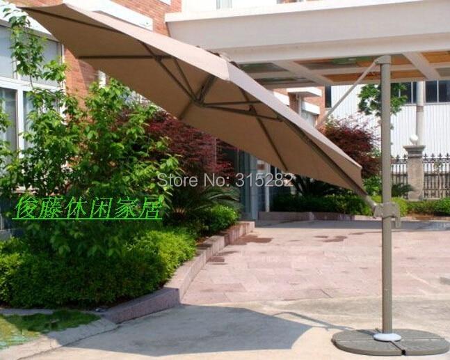 Outdoor Sun Protection Umbrella Garden Large Furniture