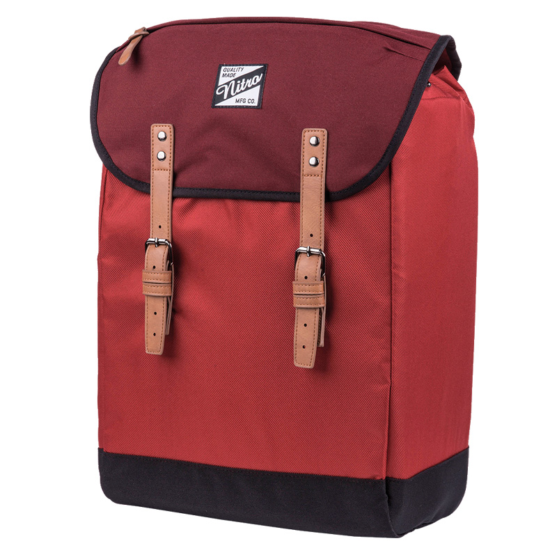 ФОТО Nirto premium urban fashion SOLID NYLON RETRO LAPTOP BACKPACK VINTAGE RUCKSACK FLAP COVER CANVAS SUEDE LEATHER DAYPACK