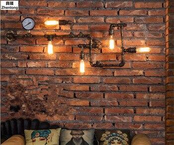 โบราณเอดิสันวินเทจย้อนยุคโคมไฟติดผนังสำหรับบ้านโคมไฟห้องรับประทานอาหารLoftเรียบง่ายอุตสา...