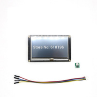 Nextion Enhanced 4.3'' HMI Intelligent Smart USART UART Serial Touch TFT LCD Module Display Panel for Arduino Raspberry Pi