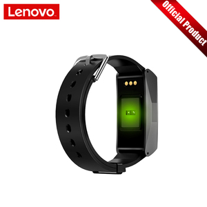 """Image 5 - Lenovo Smart Wristband Heart Rate Blood Pressure Sports Watch 0.96"""" TFT Touch Screen Metal Body Support Multiple Languages"""