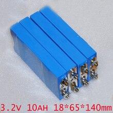 Recarregável de Polímero Celular para 12 10a e Moto-ups 4 Pcs 3.2 V 10ah Lifepo4 Bateria LI Conversor de Energia Solar Hid Luz