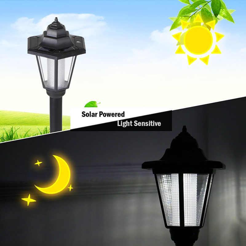 Feimefeiyou Новые водонепроницаемые наружные солнечные лампы для газонов Светодиодный прожектор садовый путь ландшафтное украшение светильники Luminaria Солнечная