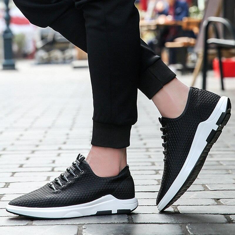 D'été MâleMx810744 Printemps Mode Hommes Coton Tissu Chaussures Marque De Black Designer Respirant lFK1cJ