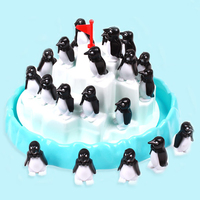 Iceberg Penguin Pile Enlighten Toy Blocks Family Party Game Fidget Toys For Children Funny Game Balance