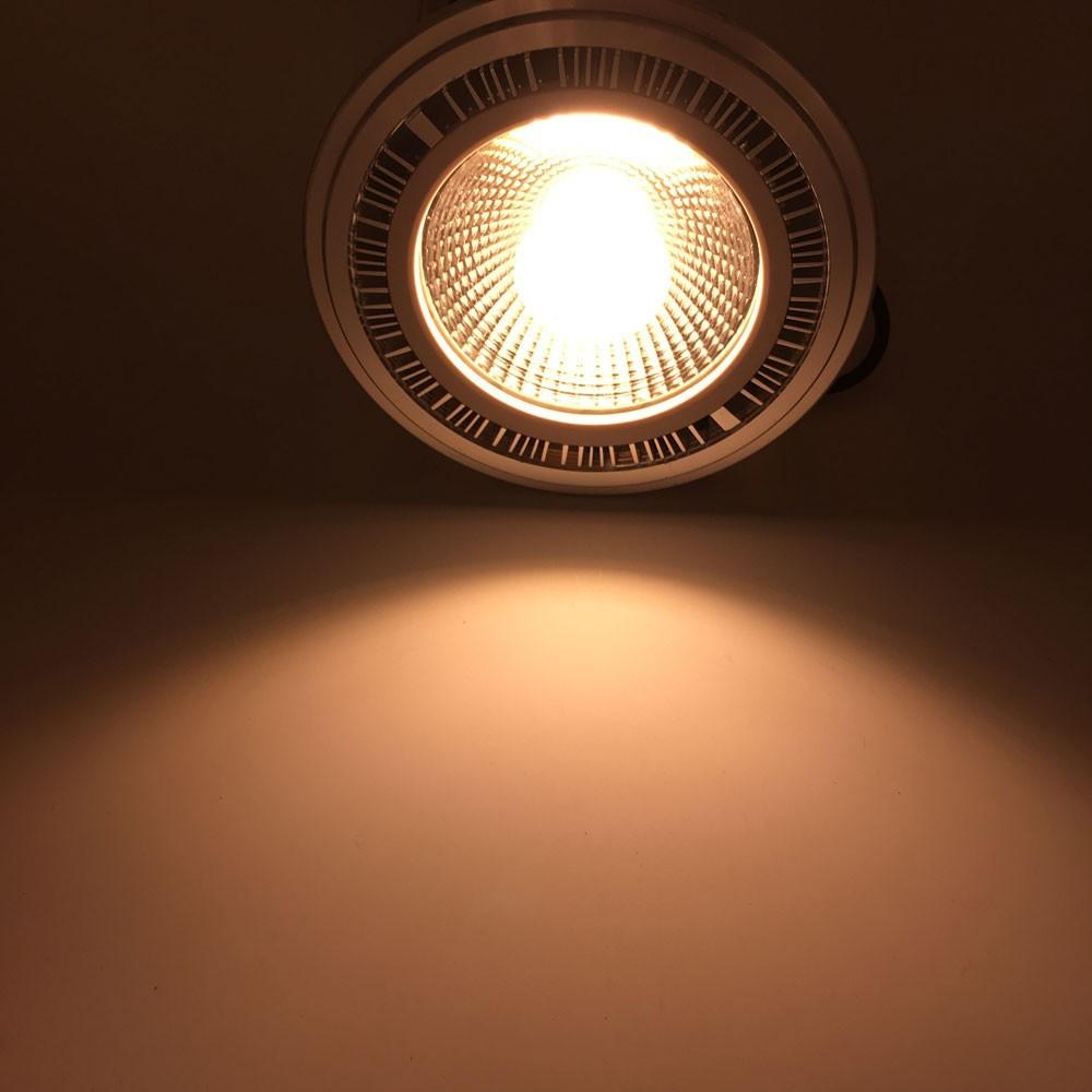 1pcs Free Shipping 7W 12V AR111 COB Lamp Replace to 50W Bulbs For Home Lighting 9W 12W 15W G53 Spotlight  Led Bulb ar111 Light (4)