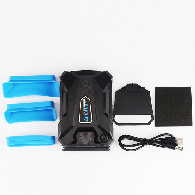 Vacuum Portable Notebook Laptop Cooler USB Air External Extracting Cooling Fan for Laptop