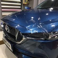 50*150 Transparent Car Body Film PVC / TPH Paint Protection Film Universal for VW Audi BMW Mazda Honda Ford
