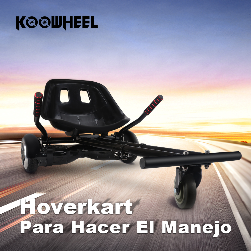 Koowheel Hoverkart for 6.5 inch 10 inch hoverboard Scooter Hoverseat koowheel 2 wheel electric scooter self balance hoverboard skateboard hoverseat go kart hoverkart safety walk car for hover board